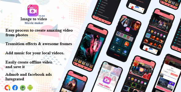 [Free Download] Image to video – Movie maker (Nulled) [Latest Version]