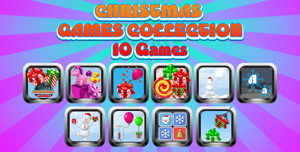[Free Download] Game Collection 10 (CAPX and HTML5) 10 Games of Christmas (Nulled) [Latest Version]