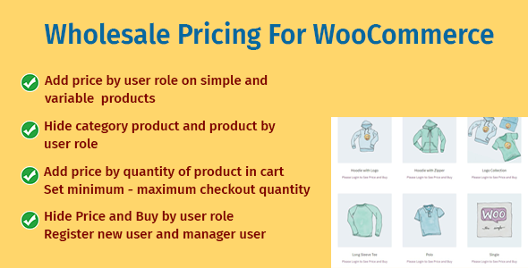 [Free Download] Wholesale Pricing For WooCommerce (Nulled) [Latest Version]