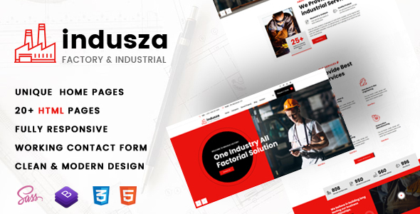 [Free Download] Indusza- Industrial & Factory HTML Template (Nulled) [Latest Version]