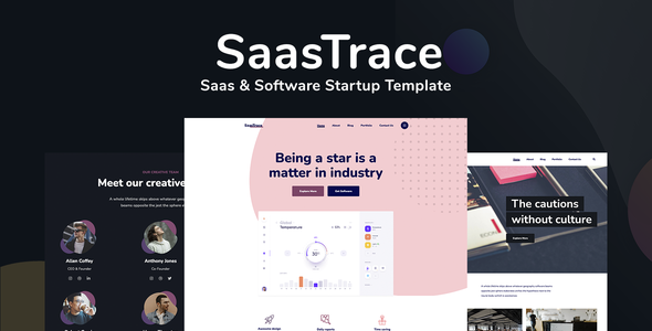 [Free Download] SaasTrace – Saas & Software Startup Template (Nulled) [Latest Version]