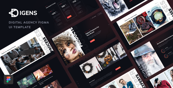 [Free Download] Digens – Digital Agency Figma UI Template (Nulled) [Latest Version]