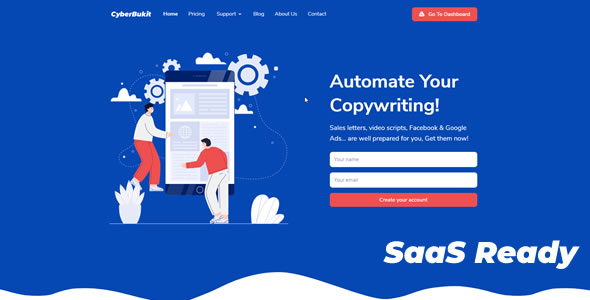 [Free Download] CyberBukit Automatic Writing – SaaS Ready (Nulled) [Latest Version]