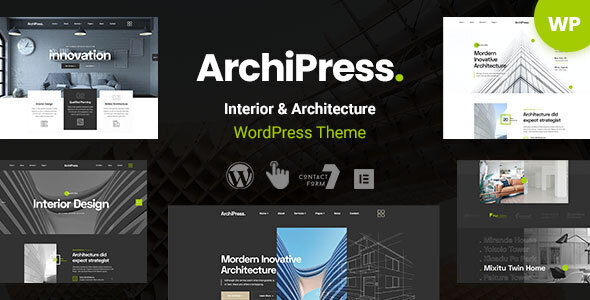 [Free Download] ArchiPress – Interior Design WordPress Theme (Nulled) [Latest Version]