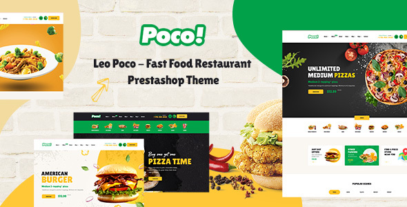 [Free Download] Leo Poco – Fast Food Restaurant Prestashop Theme (Nulled) [Latest Version]
