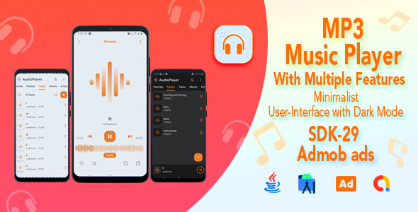 [Free Download] Neumorphic Audio Player for Android – Admob Ads (Nulled) [Latest Version]