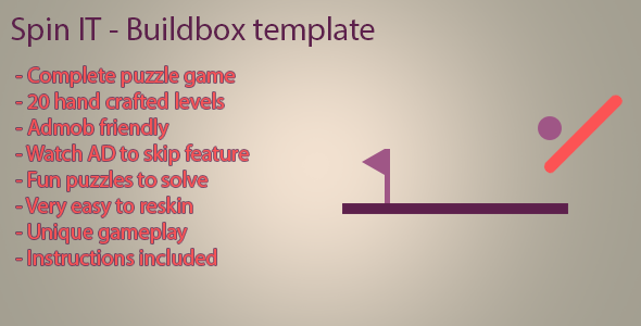 [Free Download] Spin IT – Buildbox template (Nulled) [Latest Version]