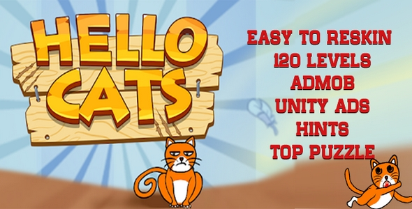 [Free Download] Hello Cats – Top Puzzle Game Unity Project (Nulled) [Latest Version]