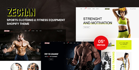 [Free Download] Zechan – Sports Clothing & Fitness Equipment Shopify Theme (Nulled) [Latest Version]