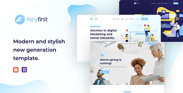 [Free Download] Faryfinit – Multipurpose Blogger Template (Nulled) [Latest Version]