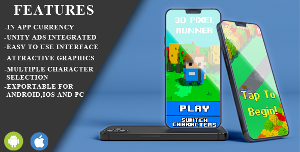 [Free Download] pixel runner unity engine 3d game  source code (Nulled) [Latest Version]