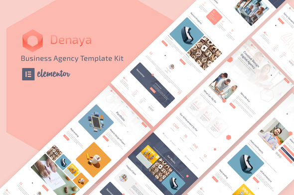 [Free Download] Denaya – Business Agency Elementor Template Kit (Nulled) [Latest Version]