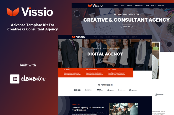 [Free Download] Vissio – Business Elementor Template Kit (Nulled) [Latest Version]