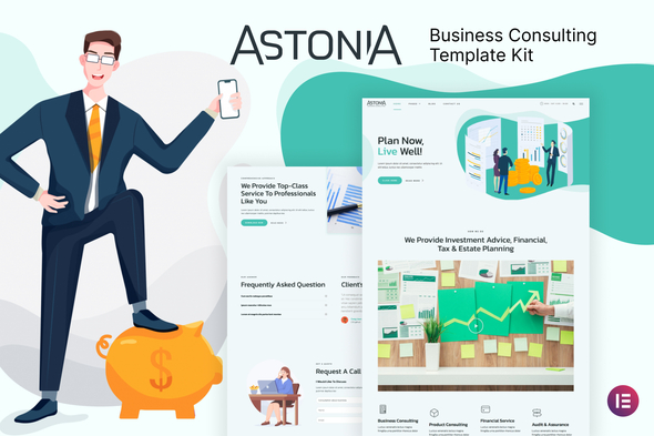 [Free Download] Astonia – Business Consulting Elementor Template Kit (Nulled) [Latest Version]