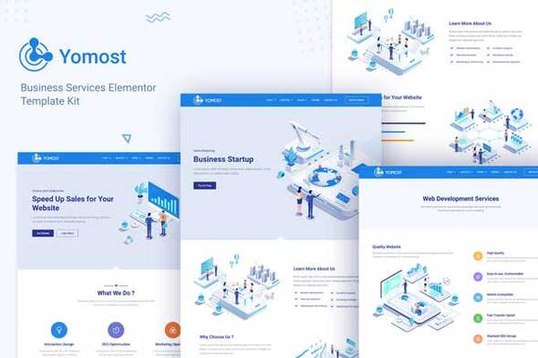 [Free Download] Yomost – Business Services Elementor Template Kit (Nulled) [Latest Version]