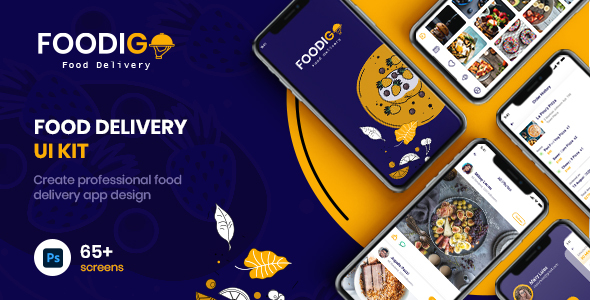 [Free Download] FOODIGO | Food Delivery UI Kit (Nulled) [Latest Version]