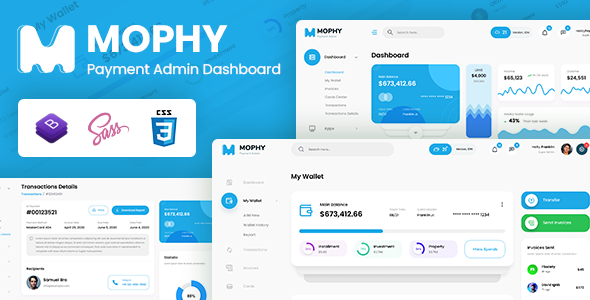 [Free Download] Mophy – Payment Admin Dashboard Bootstrap Template (Nulled) [Latest Version]