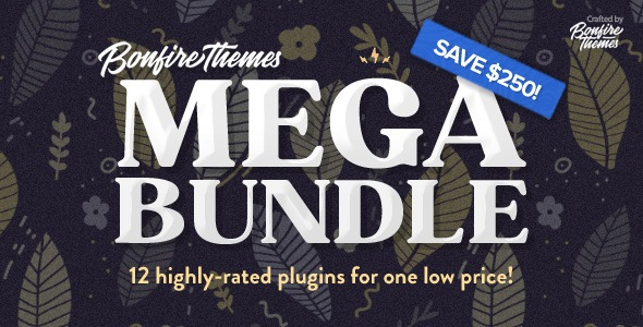 [Free Download] WordPress Plugins MEGA Bundle, by Bonfire (Nulled) [Latest Version]