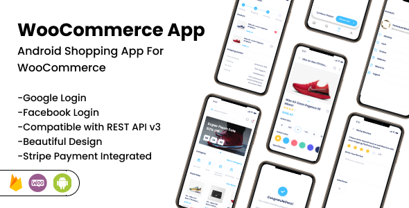 [Free Download] WooCommerce App – Android Online Shopping App for Woocommerce (Nulled) [Latest Version]