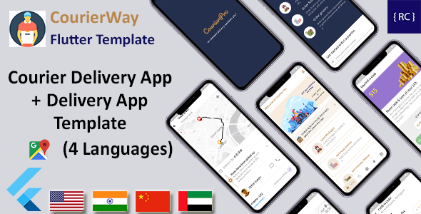 [Free Download] Courier Delivery Flutter Template | 2 Apps | User App & Delivery App | Multi Language | CourierWay (Nulled) [Latest Version]