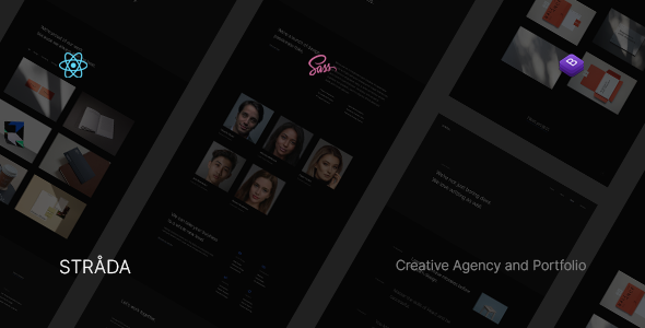[Free Download] Strada ― React Creative/Portfolio Template (Nulled) [Latest Version]