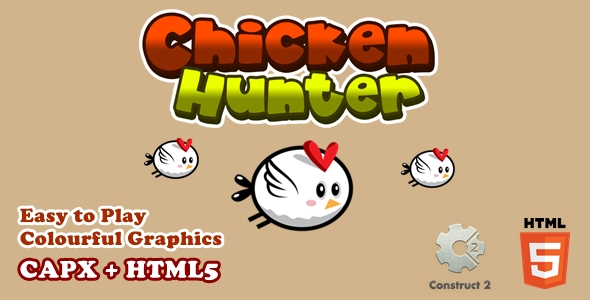 [Free Download] Chicken Hunter – Html5 Game (Nulled) [Latest Version]