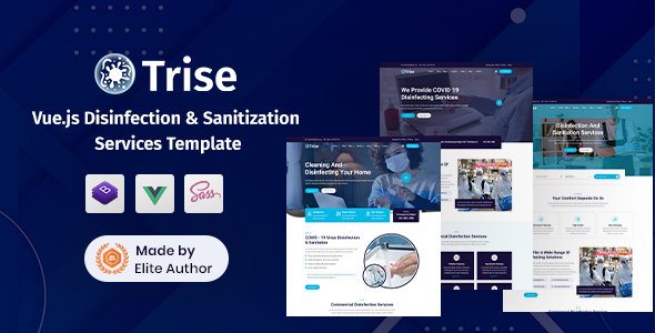 [Free Download] Trise – Vuejs Disinfection & Cleaning Template (Nulled) [Latest Version]