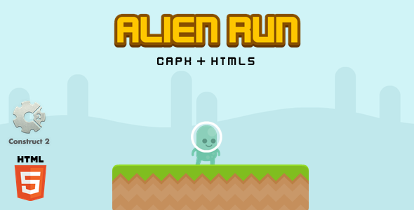 [Free Download] Alien Run – Construct 2 Html5 Game (Nulled) [Latest Version]
