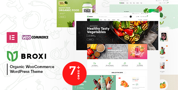 [Free Download] Broxi – Organic WooCommerce WordPress Theme (Nulled) [Latest Version]
