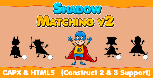 [Free Download] Shadow Matching v2 (CAPX and HTML5) Kids Education Game (Nulled) [Latest Version]