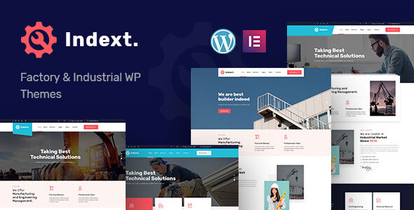 [Free Download] Indext – Industrial Business WordPress Theme (Nulled) [Latest Version]