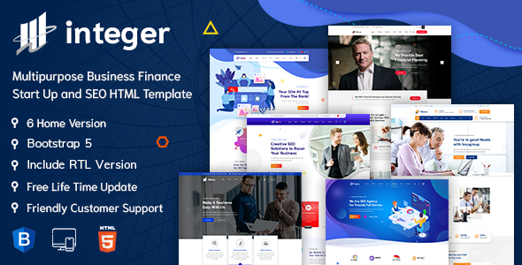 [Free Download] INTEGER – Digital Agency HTML Template (Nulled) [Latest Version]