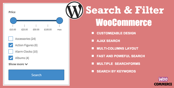 [Free Download] WooCommerce Search & Filter plugin for WordPress (Nulled) [Latest Version]