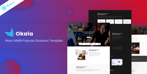 [Free Download] Okala – React Multipurpose Business Template (Nulled) [Latest Version]