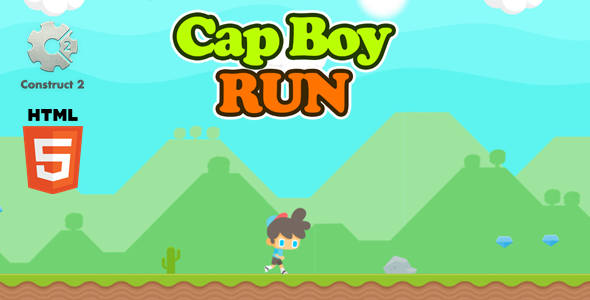 [Free Download] Cap Boy Run – Html5 Game (Nulled) [Latest Version]
