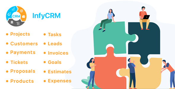 [Free Download] InfyCRM – Laravel CRM with Project Management, Tasks, Leads, Invoices, Estimates and Goals (Nulled) [Latest Version]