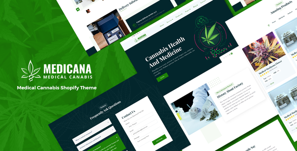 [Free Download] Medicana – Medical Cannabis Shopify Theme (Nulled) [Latest Version]