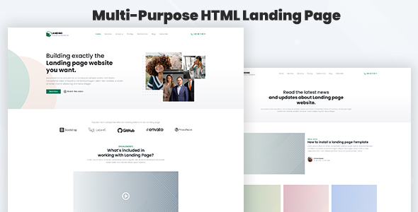 [Free Download] Legaland – Multi-Purpose HTML Landing Page Template for Business and Marketing (Nulled) [Latest Version]