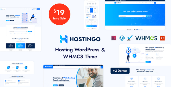[Free Download] Hostingo – Hosting WordPress & WHMCS Theme (Nulled) [Latest Version]