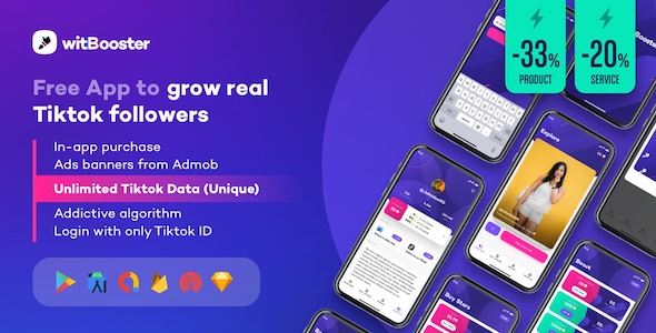 [Free Download] WitBooster – Free App to grow real Tiktok video followers for Android (Nulled) [Latest Version]