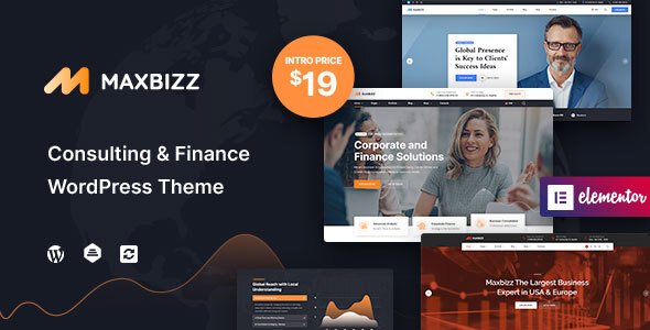 [Free Download] Maxbizz – Consulting & Financial Elementor (Nulled) [Latest Version]