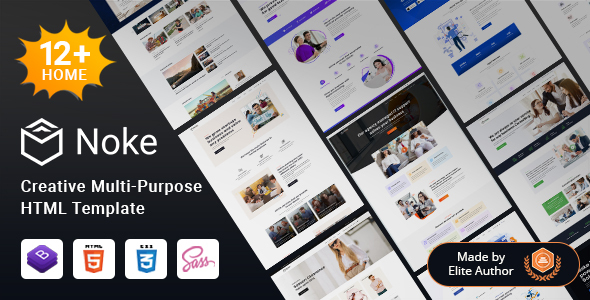 [Free Download] Noke – Creative Multipurpose HTML Template (Nulled) [Latest Version]