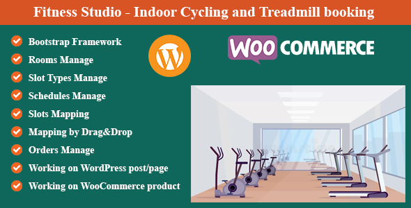 [Free Download] Fitness Studio – Indoor Cycling and Treadmill booking for WordPress and WooCommerce (Nulled) [Latest Version]