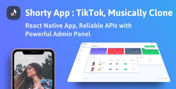 [Free Download] Shorty Short Video Making React Native App with Admin Panel (Nulled) [Latest Version]
