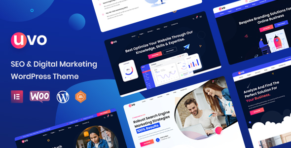 [Free Download] UVO – SEO & Digital Marketing Theme (Nulled) [Latest Version]