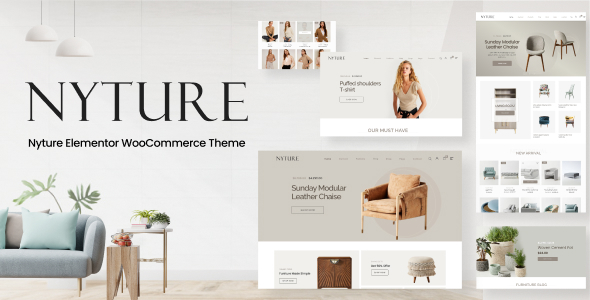 [Free Download] Nyture – Elementor WooCommerce Theme (Nulled) [Latest Version]
