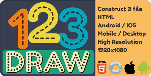 [Free Download] Draw 123 – HTML5 Game (Nulled) [Latest Version]