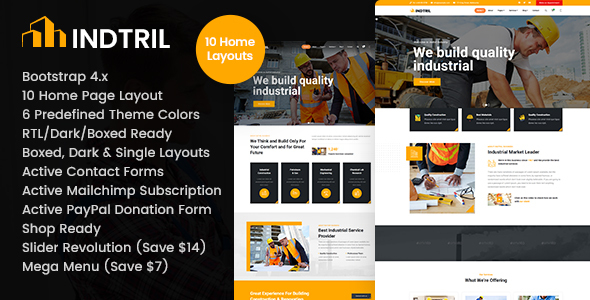 [Free Download] Indtril – Construction & Renovation HTML Template (Nulled) [Latest Version]