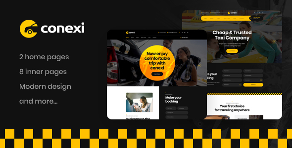 [Free Download] Conexi – Online Taxi Booking Service WordPress Theme (Nulled) [Latest Version]