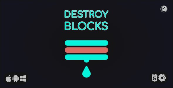[Free Download] Destroy Blocks • HTML5 + Construct Game (Nulled) [Latest Version]